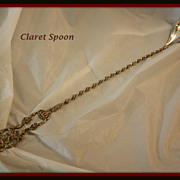 Claret (bar/lemonade) spoon  in sterling silver by  International Silver Co.