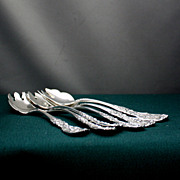 Francis I ice cream forks in sterling silver by Reed & Barton