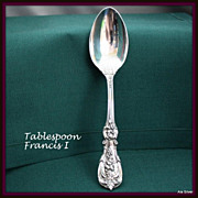 Francis I Tablespoon in solid sterling by Reed & Barton