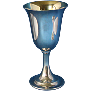Sterling goblets Lord Saybrook P664 by International