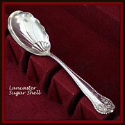 Lancaster Sugar shell in sterling produced by Gorham