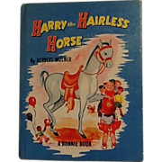 SOLD Harry the Hairless Horse - A Children's Book by Wolner - Red Tag Sale Item