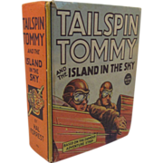 SOLD Tailspin Tommy Big Little Book Whitman 1936 - Red Tag Sale Item