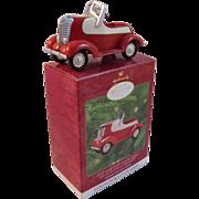 SOLD Garton Lincoln Zephyr Hallmark Keepsake Ornament Kiddie Car Classics Collector's Club Ser