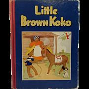 1940 Little Brown Koko Book - Black Americana - Illustrated