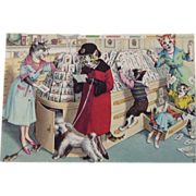 SOLD Alfred Mainzer Dressed Cats Postcard Cats at the Card Store