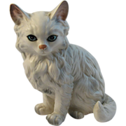 Vintage Lefton China Persian Cat Figurine