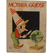 1935 Mother Goose as Told By Kellogg's Singing Lady Cereal Premium Book - Vernon Grant ...