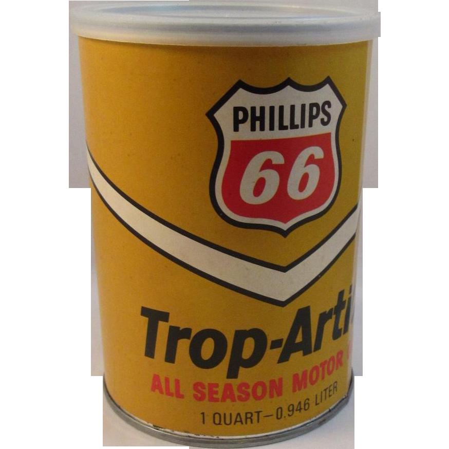 1973 Phillips 66 Trop Artic Motor Oil Puzzle