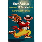 SOLD 1948 Brer Rabbit's New Orleans Molasses Recipes Advertising Cookbook