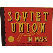 1965 Soviet Union in Maps Book