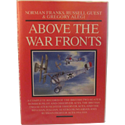 Above the War Fronts WWI Fighter Air Aces Pilot Book