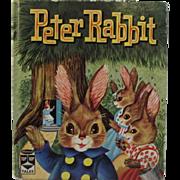1961 Peter Rabbit Whitman Top Top Tales Children's Book