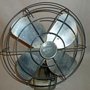 "Western Auto Vintage 1950 Wizard Husky 12"" Electric Fan - Works Very Well!"