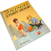 Vintage H/C Rare Children's ~ The Animal Story Book ~ Warne