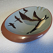 Stangl Canada Goose Ashtray - great for display