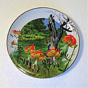 Regal Lily Wildflowers of the South Limited Edition Collector Plate
