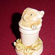 Harmony Kingdom Pot Sticker Hedgehog Mini Treasure Jest Box