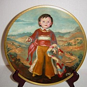 """Pickard""""s Children of Mexico 'Miguel' Limited Edition Collector Plate"""