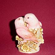Harmony Kingdom Love Nest Bird Box