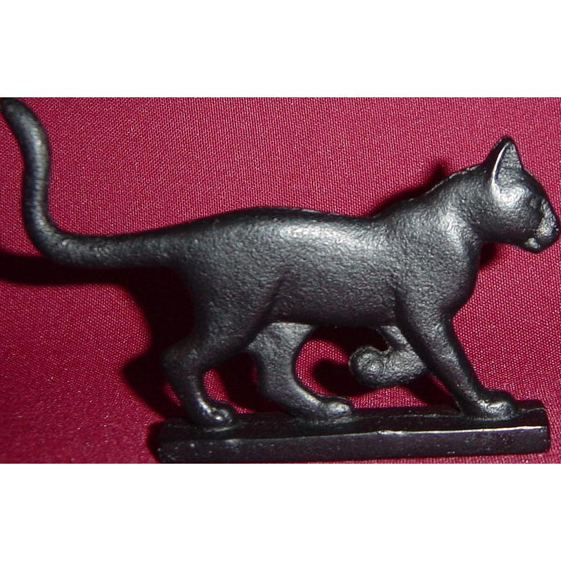 Bootscraper Curio Cabinet Cat by Franklin Mint