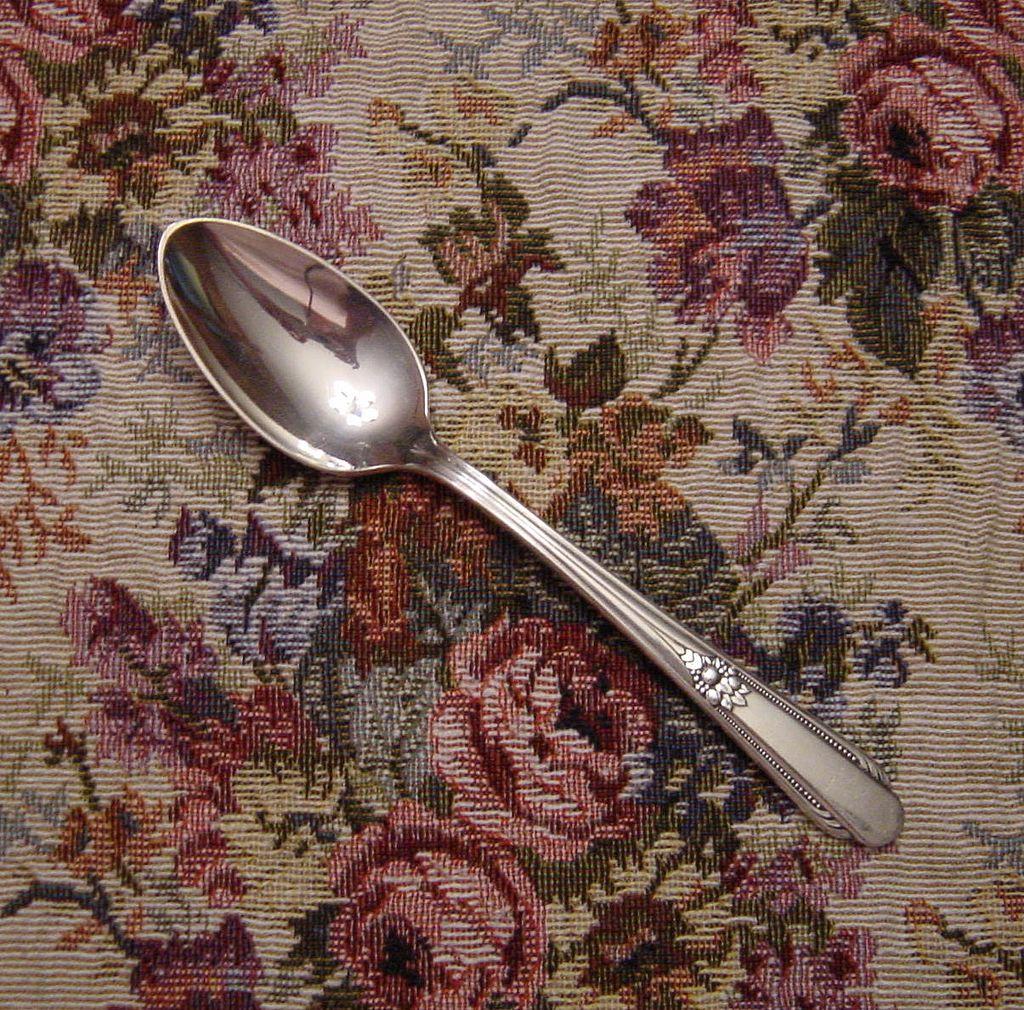 Wm Rogers Silverplate Memory Teaspoon