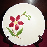 Southern Potteries Blue Ridge Enchantment Bread Plate