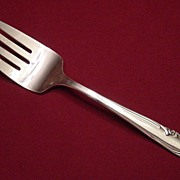 Wm Rogers MFG Co Silverplate Allure or Teatime Cold Meat Fork