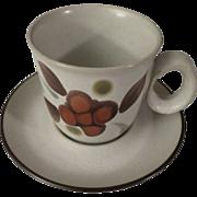 SOLD Noritake Folkstone Orinda Cup and Saucer