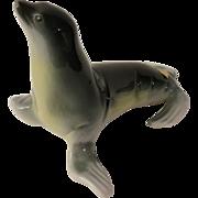Royal Dux Seal Figurine