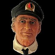 Bossons Sea Captain Retired Wall Head Plaque