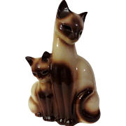 Texans Incorporated Siamese Cat TV Lamp by Kron