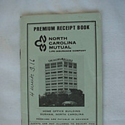 SOLD Black Americana Premium Insurance Book Durham North Carolina