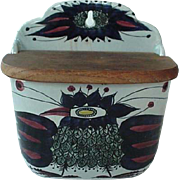 Royal Copenhagen Falence Salt Box 1960s