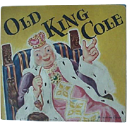 Old King Cole Pop Up Nursery Rhyme Booklet 1953 By McLoughlin