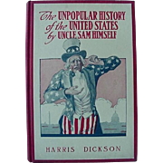 SALE The Unpopular History Of The United States By Uncle Sam Himself Hardback Book By ...