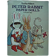 Peter Rabbit Uncut Paper Doll Book 28 Outfits And Peter Rabbit Doll 1982 By Kathy ...
