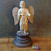 SOLD Antique Santos Figure of Saint Michael the Archangel