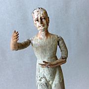 SOLD Antique Santos  Saint Figure of the Virgin  Mary