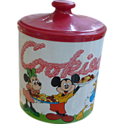 Disney Mickey Mouse And Friends Cookie Jar