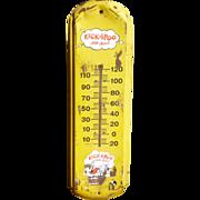 Kickapoo Joy Juice Advertising Thermometer