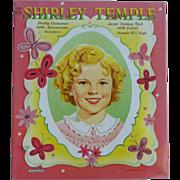 Ideal Doll Saalfield Shirley Temple Uncut Paper Dolls