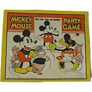Disney Pin The Tail On Mickey Mickey Mouse Party Game