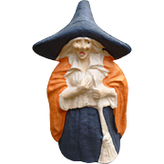 Halloween Witch Candy Container