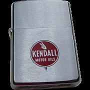 SOLD Kendall Motor Oil Advertising Zippo Lighter