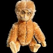 SALE Tiny Cinnamon Schuco Monkey W/Compact & Lipstick