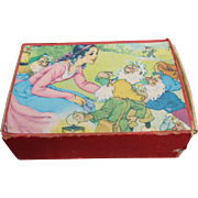Snow White And The Seven Dwarfs Children's Picture Blocks