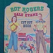 SALE Roy Rogers And Dale Evans Uncut Paper Dolls