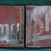 SALE Old Wood Burma Shave Signs