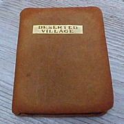 Early Miniature Book The Deserted Village